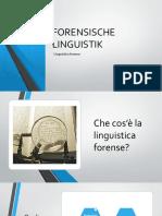 Linguistica Forense-introduzione