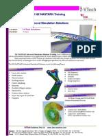 NX Nastran Advanced Simulation Solutions