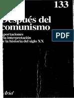 Después del comunismo. Aportaciones a la interpretación del siglo XX - Ernst Nolte
