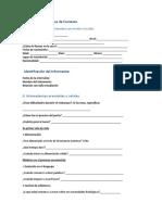 Formato Evaluación Diagnóstica de Contexto
