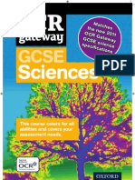 OCR Gateway GCSE Science Spring 2011 course guide