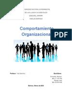 Taller Modulo I - Comportamiento Organizacional