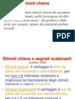 etologia Stimoli
