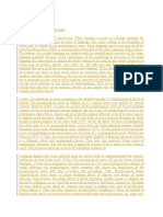 Transcription Morphological errors