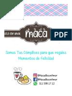 CATALAGO MACA 2020