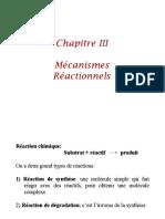 mecanisme reactionel