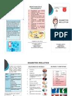 folleto diabetes pdf