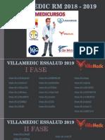 VILLAMEDIC ESSALUD 2019