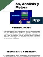 4.5 Medición, Análisis y Mejora
