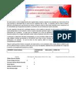 REPORTE ACADÉMICO CORTE ACADÉMICO SEGUNDO PERIODO Prof Carlos Pedraza