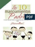 10 Mandamientos Para Los Padres