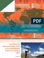 Juan Quiroga - Las Zonas No Interconectadas (ZNI) y sus posibilidades frente a la energía solar.