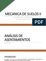 ANALISIS DE ASENTAMIENTOS