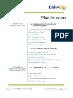 Plan de cours - (Module initiation gratuit)