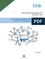 STIC 140 F7 RFS-Virtualización
