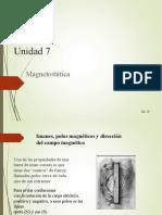 UTN - Magnetostatica Fuerzas Magneticas