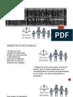 2 El derecho de familia