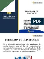 PROGRAMA DE INDUCCION EXPOSICION