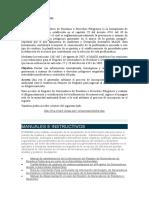REGISTRO DE GENERADORES IDEAM
