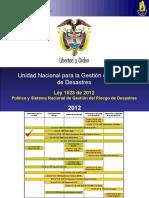 Ley 1523 Gestión del Riesgo.ppt