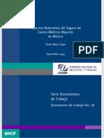 Aspectos Relevantes del Seguro de Gastos Médicos Mayores en México