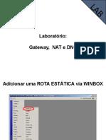 07 - Gateway, NAT e DNS