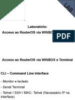 02 - Acceso ao RouterOS via WINBOX e Terminal