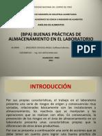 BUENAS PRÁCTICAS DE ALMACENAMIENTO EN EL LABORATORIO