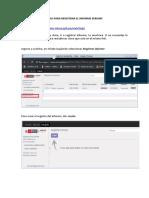 manual para registrar el informe serums