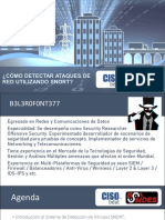 Blue&Red - IDS & IPS using Snort by B3l3r0f0nt377