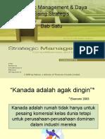 Strategic Management & Daya Saing Strategis