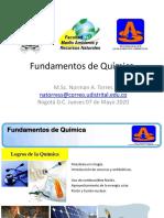 Clases  2 Energía Fundamentos de Química 2020-1