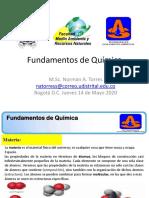 Clases  3 Materia Fundamentos de Química 2020-1