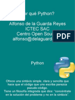 Por Que Python
