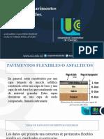 exposicion Patología pavimentos flexibles y rigidos - electiva II