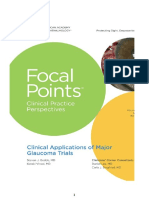 Focal Points for Glaucoma Trials