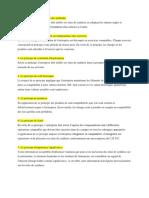 Les sept principes comptables