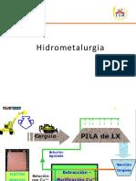ecuaciones hidrometalurgia
