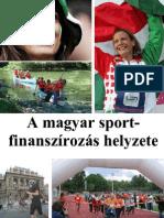 A magyar sportfinanszírozás helyzete
