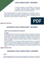 SFSM 5.1 Seguridad Para Fundiciones y Refineria