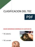 CLASIFICACION DEL TEC