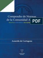 Compendio DE Normas Acuerdo DE CARTAGENA