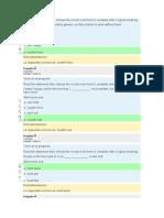 Assignment 7 Questionnaire U4