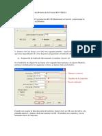 Conexion por modem KX-TES824 cdc