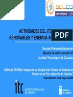 Actividades ITC EERR y EST seminario SOLCO