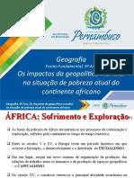 Os impactos da geopolítica mundial na situação de pobreza atual do continente africano.ppt