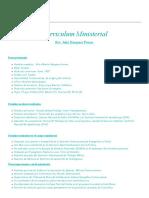 Curriculum Ministerial