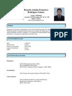 CV Ricardo Rodríguez 2020 SIN DOC