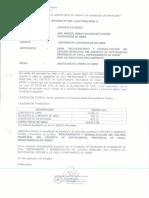 LIQUIDACION DE OBRA Mejoramiento y rehabiliotacion del coliseo municipal del distrito de suitucancha.