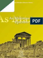 (Coleção Filosofia à Maneira Clássica #3) Epicteto - As Máximas de Epicteto-Editora Kiron (2009)